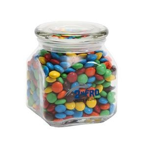 M&Ms® Plain in Med Glass Jar