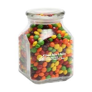 Skittles® in Lg Glass Jar