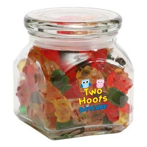 Gummy Bears in Sm Glass Jar